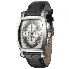 Ceas Pierre Cardin PC100221F09, cronograf barbatesc - Ceas barbatesc Pierre Cardin, Elegant, Quartz, Inox, Piele