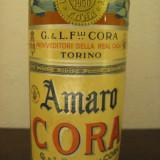 lichior amaro cora (italy), cl 75  gr 32 ano 1950