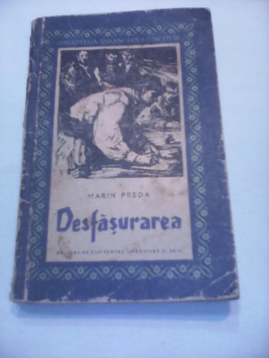 DESFASURAREA MARIN PREDA BIBLIOTECA TARANULUI MUNCITOR 1959 TIRAJ MIC 12000 BUC.