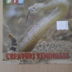 CREATURI VENINOASE DOCUMENTAR DVD NOU - Film documentare, Romana