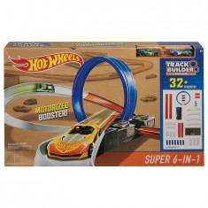 Jucarie baieti set 6 in 1 Hot Wheels - Masinuta