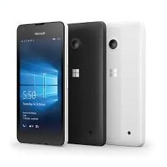 Microsoft Lumia 550 - Telefon Microsoft, Negru, 8GB, Orange, Quad core, 1 GB