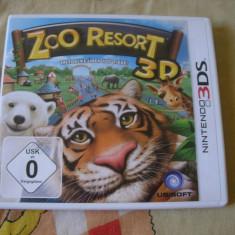 Zoo Resort 3D (3DS) - Jocuri Nintendo 3DS, Actiune, 3+