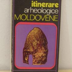 ITINERARE ARHEOLOGICE MOLDOVENE - Carte Istorie