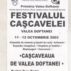 Bnk cld Calendar de buzunar 2004 - Festivalul cascavelei Valea Doftanei - Calendar colectie
