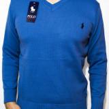 Pulover Polo by Ralph Lauren - pulover albastru pulover ralph cod 112 - Pulover barbati, Marime: M, L, XL, Culoare: Din imagine