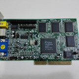 Placa video vintage AGP Trident 3DImage 9750 4Mb