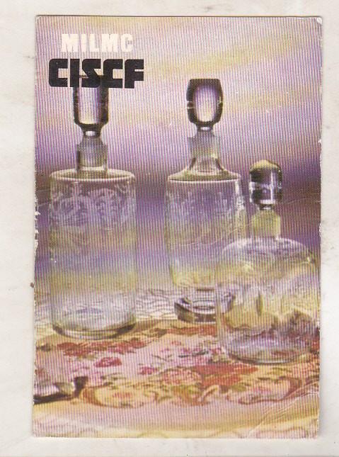 bnk cld Calendar de buzunar 1986 - Intreprinderea de sticlarie Tg Jiu