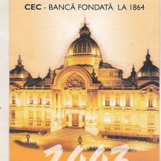 bnk cld Calendar de buzunar 2003 - CEC