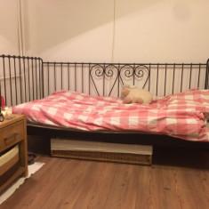 Pat - Divan Ikea din fier forjat - Pat dormitor