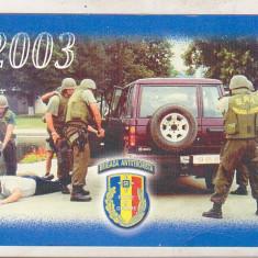 bnk cld Calendar de buzunar 2003 - Brigada Antiterorista