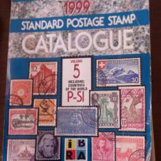 Carte filatelie Catalog Scott 1999, volumul V inclusiv ROMANIA cote netto