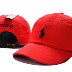 Sapca baseball tip POLO by Ralph Laurent. NOUA. Culoare rosie - Sepca/Palarie