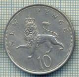 7283 MONEDA- MAREA BRITANIE - 10 NEW PENCE -anul 1968 -starea ce se vede