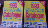 Carte filatelie Catalog Scott 1993, volumele II si III cote netto in USD
