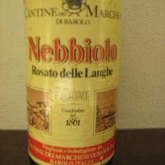 Vinuri de colectie, nebbiolo cantine barolo, recoltare 1977, cl 72, gr 11, 8-a96 - Vinde Colectie, Aroma: Dulce, Sortiment: Rosu, Zona: Europa