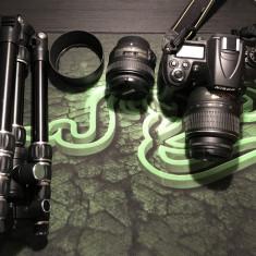 Nikon D7000 Obiectiv kit ca noi (2500cadre) + Geanta + Card 16GB + Trepied - Aparat Foto Nikon D7000, Kit (cu obiectiv)
