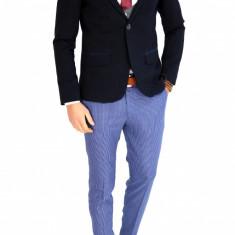 Sacou tip Zara Man bleumarin - sacou barbati - COLECTIE NOUA - 7647, Marime: 46, 48, 50, 52, 54, 56, Culoare: Din imagine