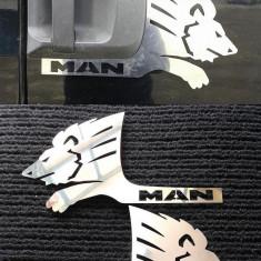 Ornament Maner Portiera Man TGA TGX (material inox) - Tuning camioane