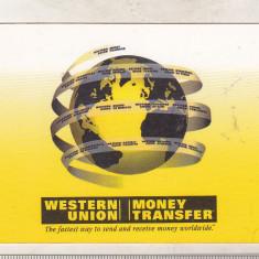 bnk cld Calendar de buzunar 2003 - Western Union