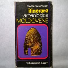 C. Buzdugan - Itinerare arheologice moldovene - Carte Istorie