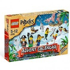 Lego 6299 Calendar Advent cu pirati 2009