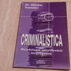 Criminalistica-Eliodor Tanislav