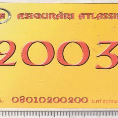 bnk cld Calendar de buzunar 2003 - Asigurari Atlassib