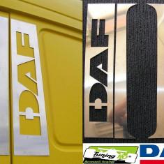 Ornament Cabina Portiera Geam Daf XF (din inox) - Tuning camioane