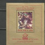 Polonia 1978 - PICTURA DE JAN MATEIKO, colita MNH, UN93 - Timbre straine, Arta, Nestampilat