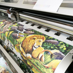 Tapet personalizat texturat - Printare