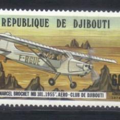 DJIBOUTI 1978, Aviatie, serie neuzată, MNH - Timbre straine, Nestampilat