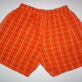 Pantaloni Scurti- bermude - barbati , Carouri portocalii