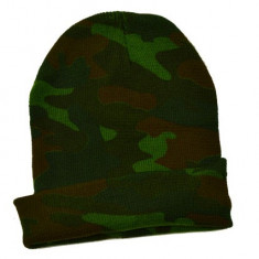 Caciula groasa camuflaj ( militara ) - vanatoare - Fes Barbati