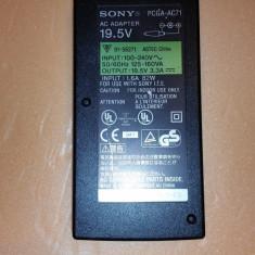 15.Alimentator Incarcator Laptop Sony 19.5V 3.3A PCGA-AC71 65W - Original, Incarcator standard