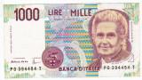 Italia bancnota MILLE 1000 LIRE 1990