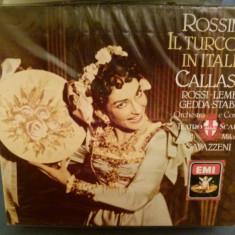 Rossini - Il turco in Italien - Muzica Opera emi records, CD