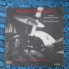 ISTORIA JAZZULUI volumul 1 (1 vinil - discul in stare APROAPE IMPECABILA!) - Muzica Jazz electrecord