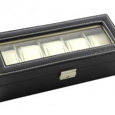 Cutie pentru ceasuri, 5 compartimente - Cutie Ceas