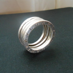 BVLGARI inel barbatesc argint 925 - Inel argint