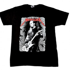 Tricou Metallica - James Hetfield, Marime: S, M