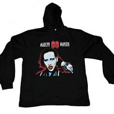 Hanorac Marilyn Manson - Hanorac barbati, Marime: XXL