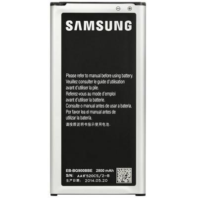 ACUMULATOR SAMSUNG  Galaxy S5 G900 COD EB-BG900BBE BATERIE ORIGINALA NOUA foto