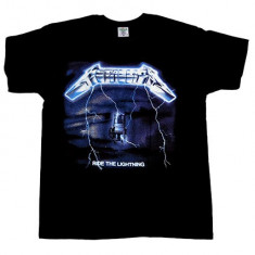 Tricou METALLICA - RIDE THE LIGHTNING - MODEL 2, Marime: S, M, L
