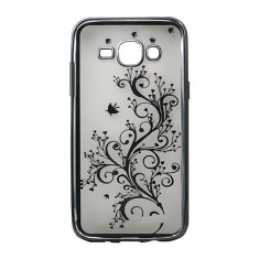 Husa Bright Samsung Galaxy J5 #005 - Husa Telefon Atlas, Transparent, Plastic