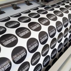 Stickere personalizate - Printare