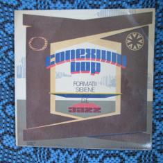 CONEXIUNI BOP. FORMAȚII SIBIENE DE JAZZ (1 vinil, stare: NM / APROAPE NOU!!!) - Muzica Jazz electrecord