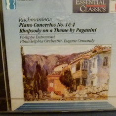 Rachmaninov - Piano co. 1, 4 - Muzica Clasica sony music, CD