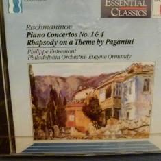 Rachmaninov - Piano co. 1, 4 - Muzica Clasica sony music, CD