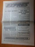 ziarul expres 26 februarie -4 martie 1991- articol despre generalul vasile milea